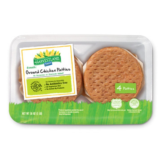 PERDUE® HARVESTLAND® Ground Chicken Patties