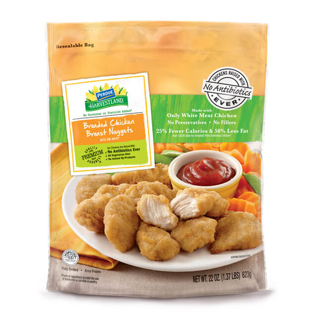 PERDUE® HARVESTLAND® Breaded Chicken Breast Nugget (22 oz.)