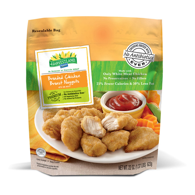 PERDUE® HARVESTLAND® Breaded Chicken Breast Nugget