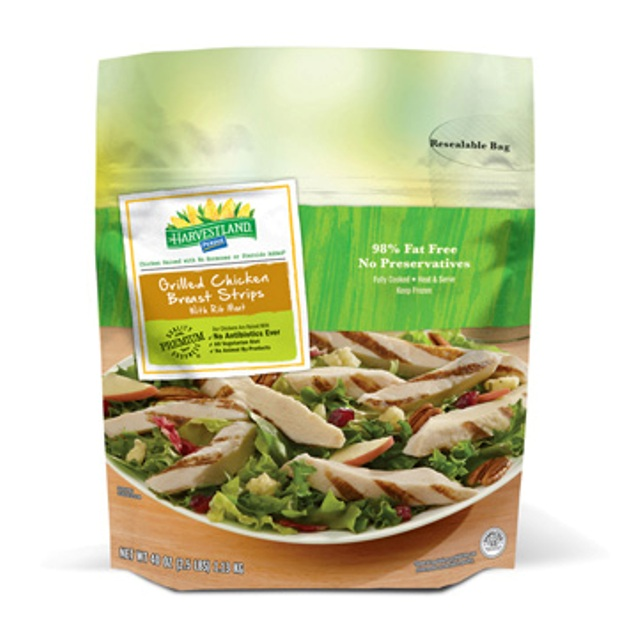 PERDUE® HARVESTLAND® Grilled Chicken Breast Strips, Fully Cooked, 2.50 lbs.
