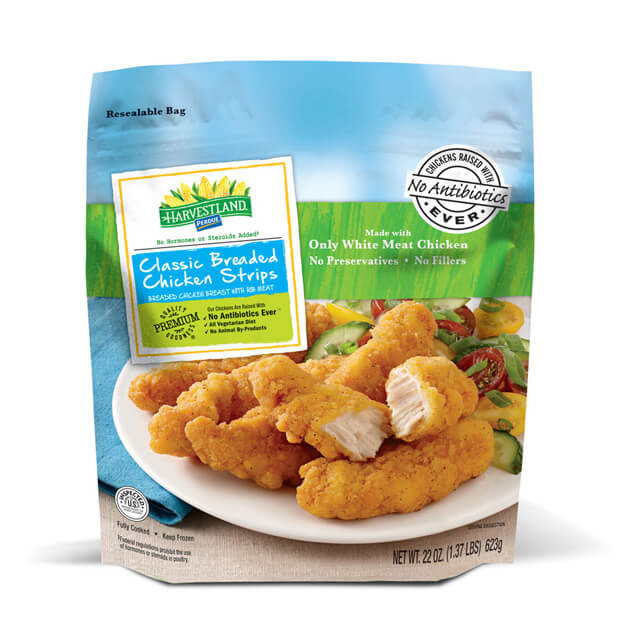 PERDUE® HARVESTLAND® Classic Breaded Chicken Strips (22 oz.)