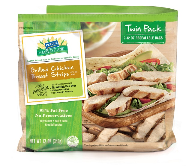 PERDUE® HARVESTLAND® Chicken Breast Strips, Roasted