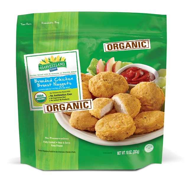 PERDUE® HARVESTLAND® Organic Breaded Chicken Breast Nuggets