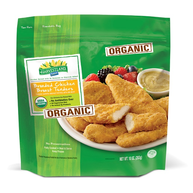 PERDUE® HARVESTLAND® Organic Breaded Chicken Breast Tenders