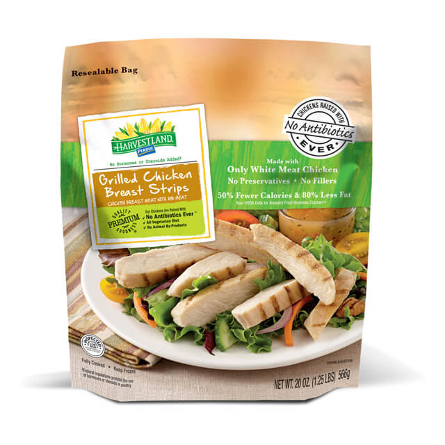 PERDUE® HARVESTLAND® Grilled Chicken Breast Strips