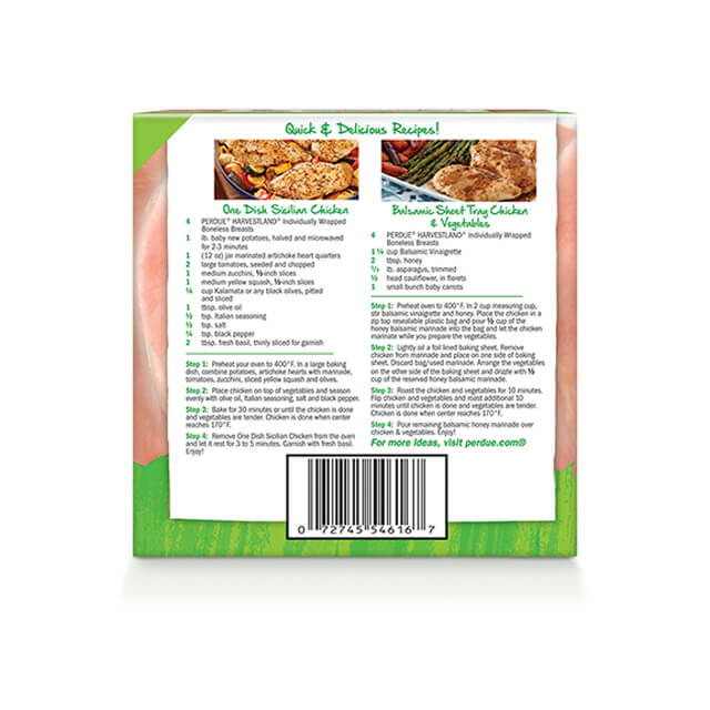 Free Range Frozen Boneless Skinless Chicken Breasts, Individually Wrapped (3 lbs.)