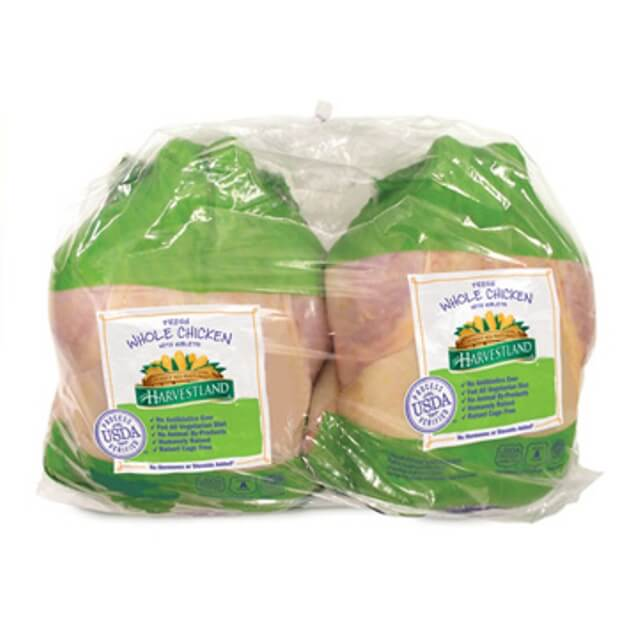 PERDUE® HARVESTLAND® Whole Chicken with Giblets