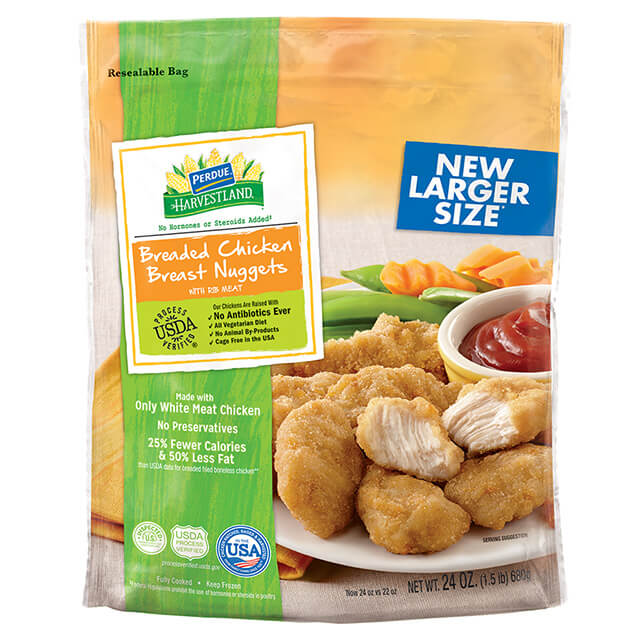 PERDUE® HARVESTLAND® Breaded Chicken Breast Nugget (24 oz.)
