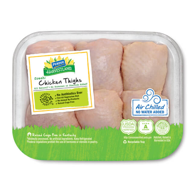 Air Chilled Chicken Thighs