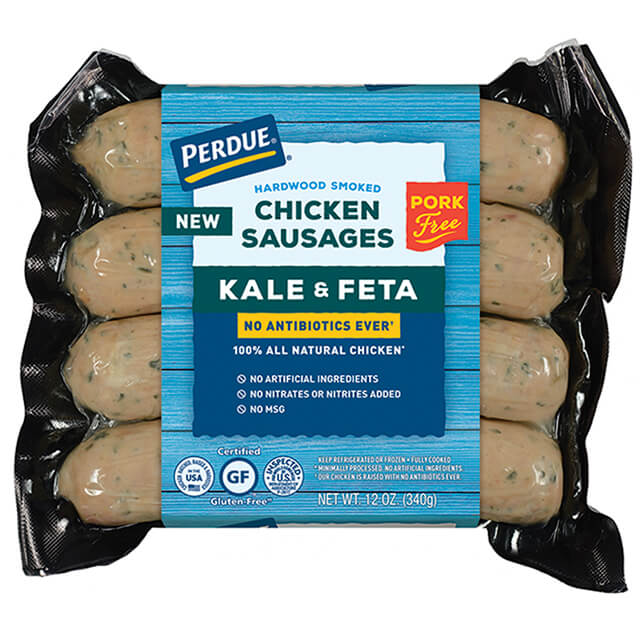 PERDUE® NAE Kale and Feta Chicken Sausage