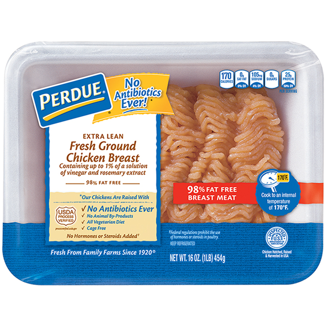 PERDUE® Fresh Ground Chicken Breast (1 lb.)