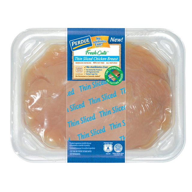 PERDUE® FRESH CUTS™ Thin Sliced Chicken Breasts