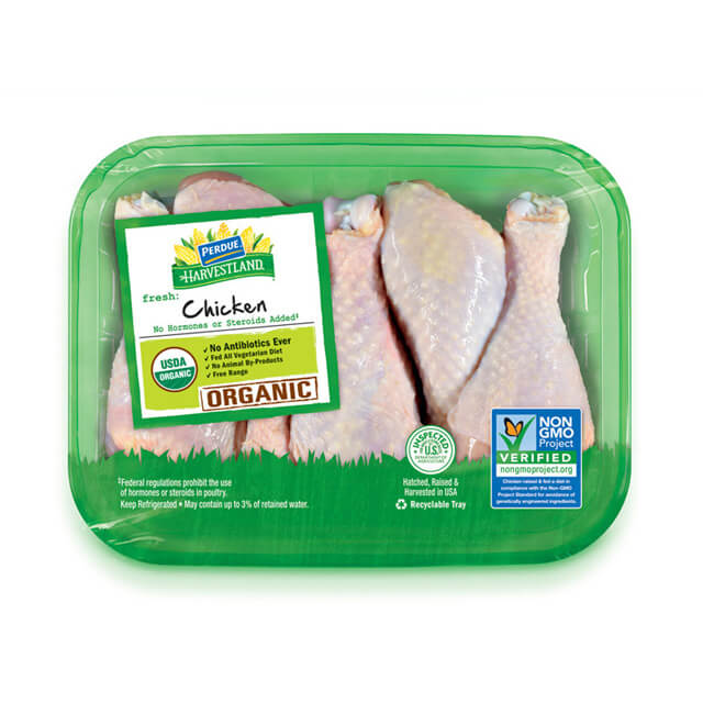 PERDUE® HARVESTLAND® Organic Chicken Drumsticks