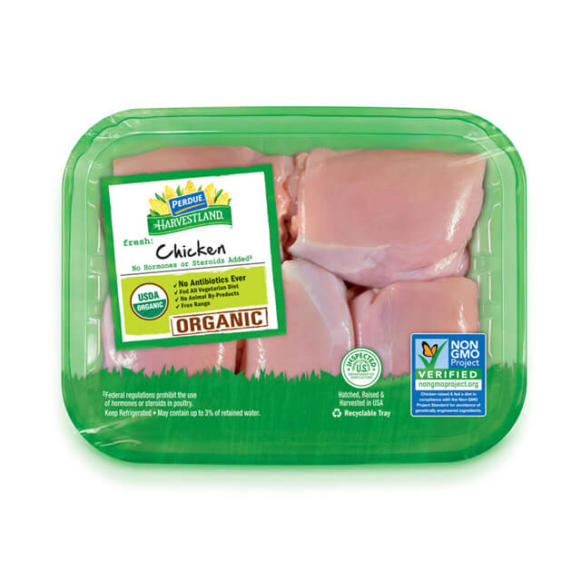 PERDUE® HARVESTLAND® Organic Boneless Skinless Chicken Thighs