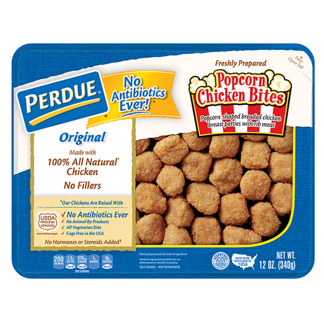 Refrigerated Breaded Popcorn Chicken Bites (12 oz.)