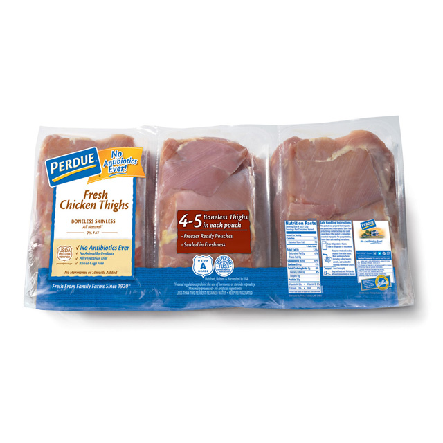 PERDUE® Boneless, Skinless Chicken Thighs, Value Pack