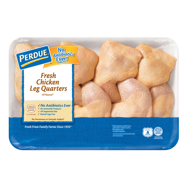 PERDUE® Chicken Leg Quarters, Value Pack