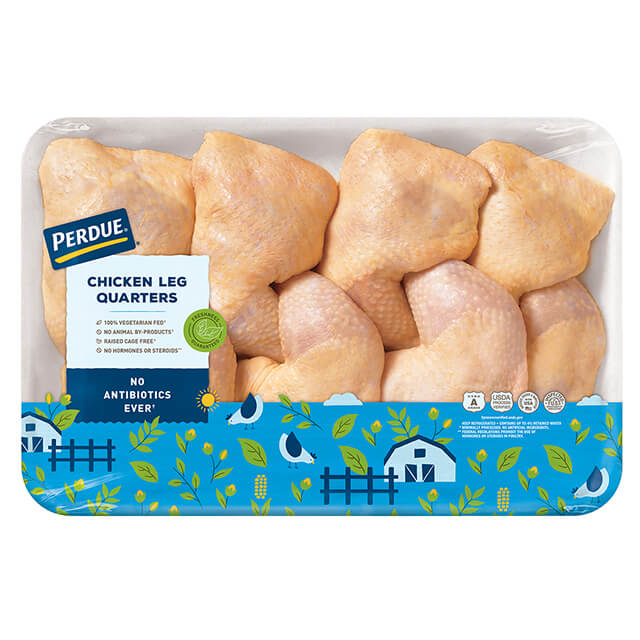 Fresh Chicken Leg Quarters, Value Pack