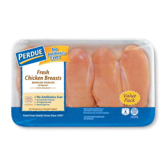 PERDUE® Boneless Skinless Chicken Breasts, Value Pack