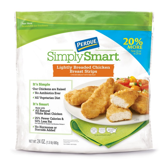 PERDUE® SIMPLY SMART® Lightly Breaded Chicken Strips (24 oz.), Frozen