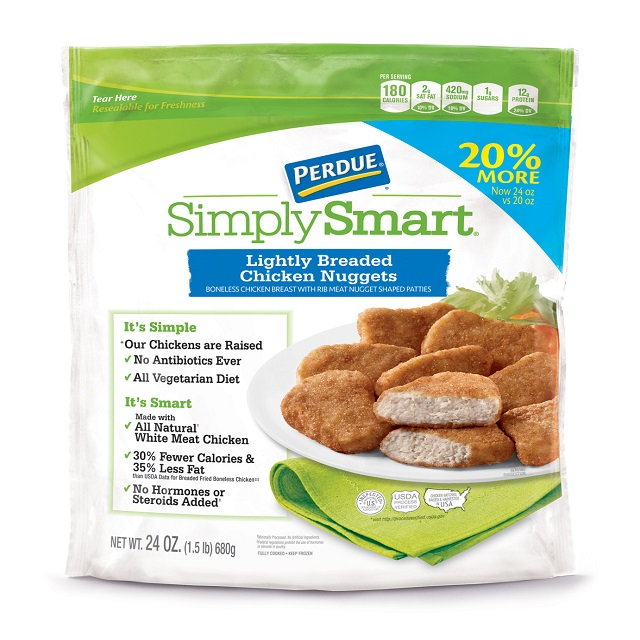 PERDUE® SIMPLY SMART® Lightly Breaded Chicken Nuggets (24 oz.), Frozen