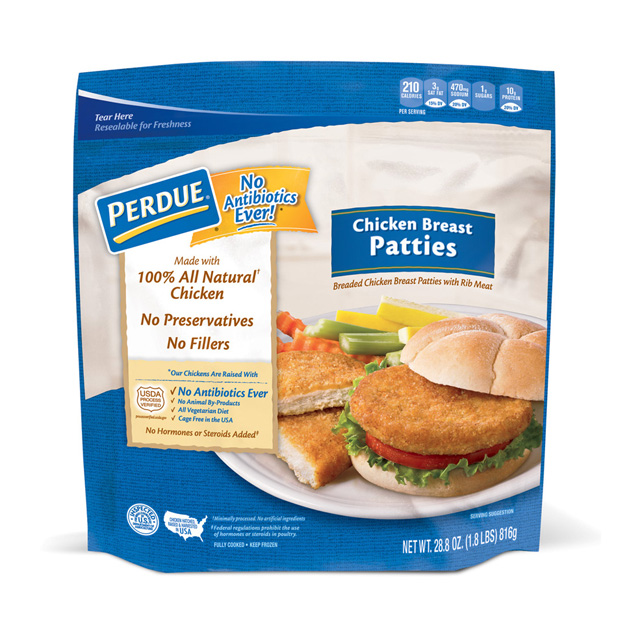 PERDUE® Chicken Breast Patties (28.8 oz.)