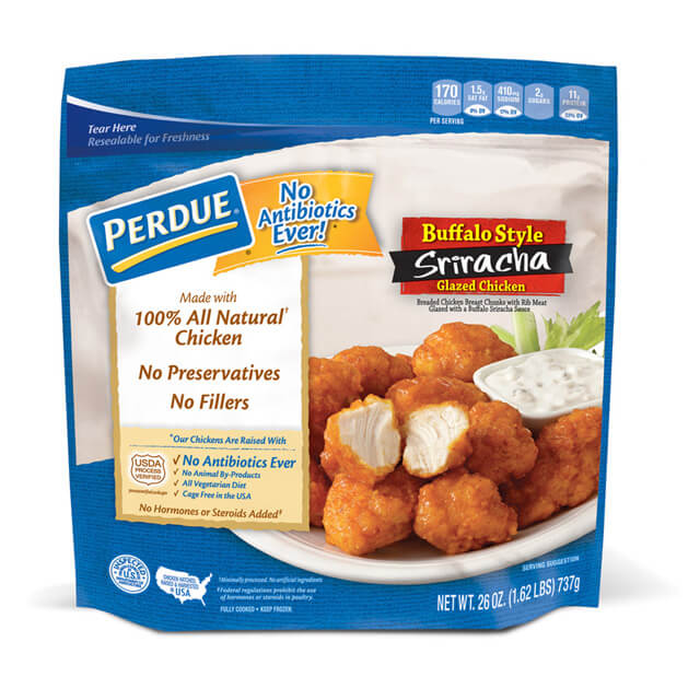 PERDUE® Buffalo Sriracha Glazed Chicken Chunks (26 oz.)