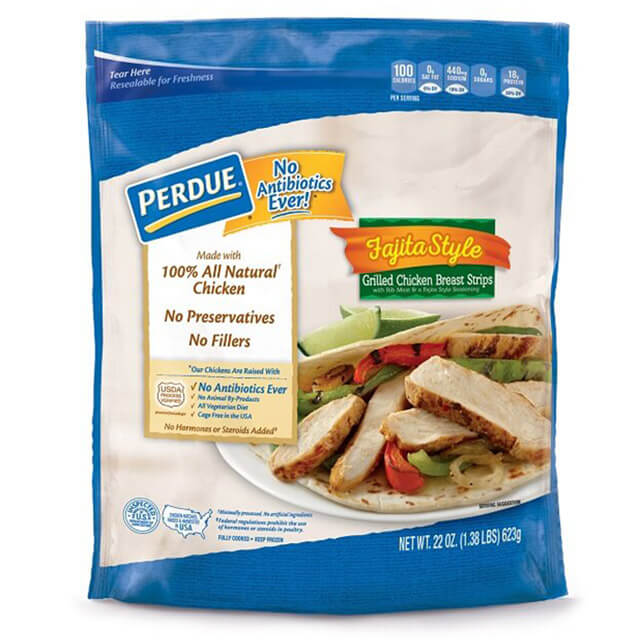 Perdue Fully Cooked NAE Fajita-Style Grilled Chicken Breast Strips (22oz.)