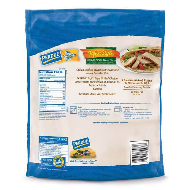 Fully Cooked Fajita-Style Grilled Chicken Breast Strips (22 oz.)