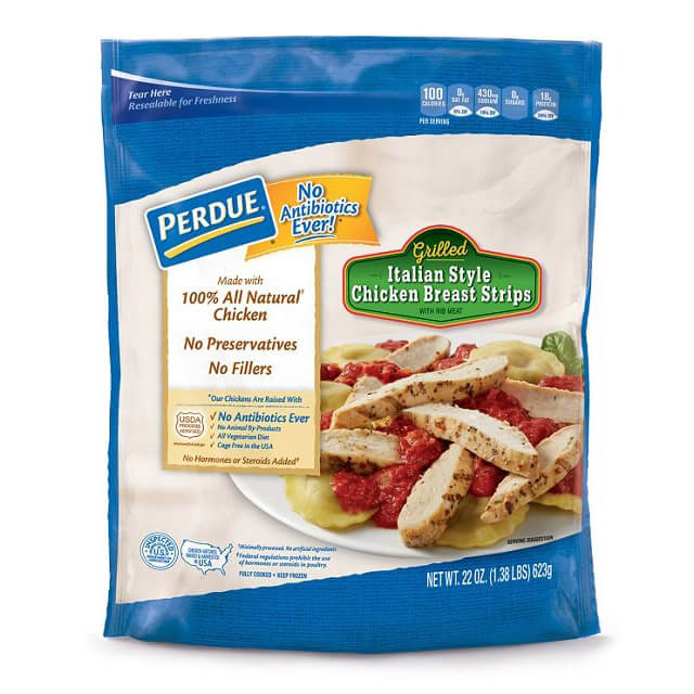 Fully Cooked NAE Italian-Style Chicken Breast Strips (22 oz.)