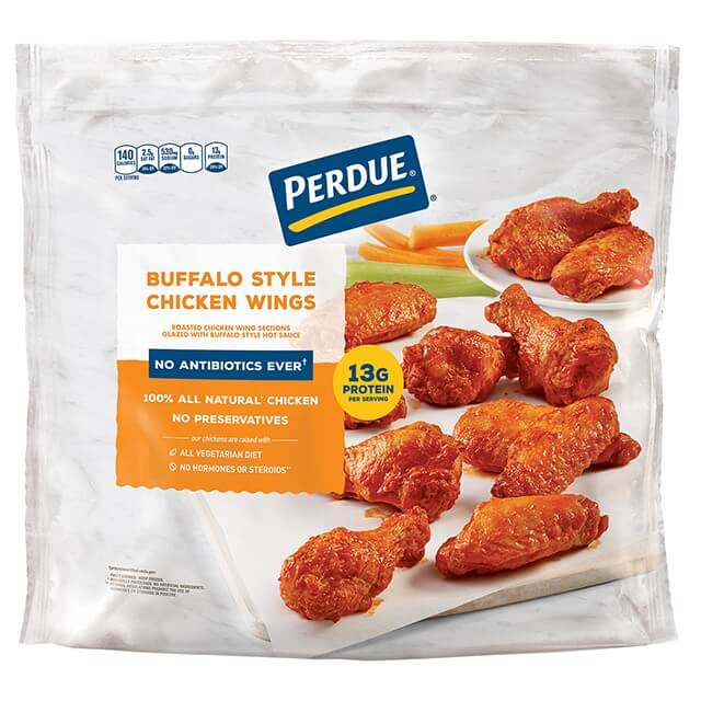 Buffalo Style Glazed Jumbo Wings, Club Pack (5lb)