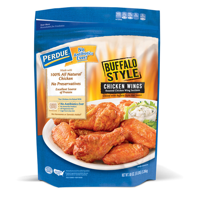 PERDUE® Buffalo Style Glazed Jumbo Wings (80 oz.)