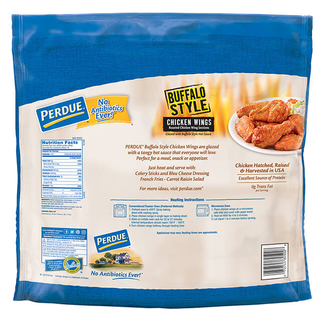 Buffalo Style Glazed Jumbo Wings - Club Pack (5lb)