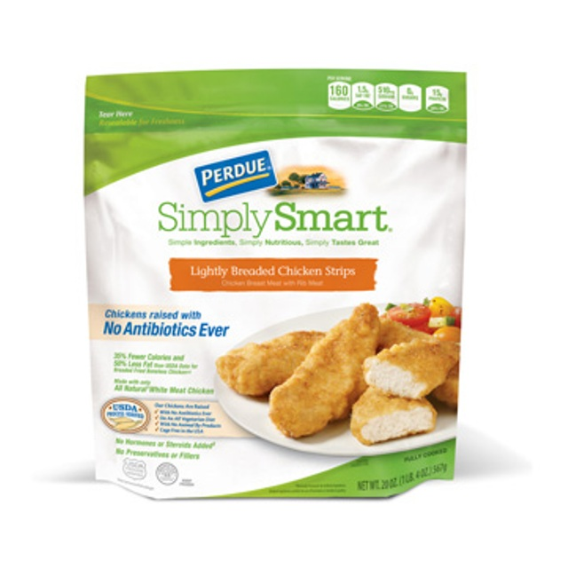 PERDUE® SIMPLY SMART® Lightly Breaded Chicken Breast Strips (20 oz.)