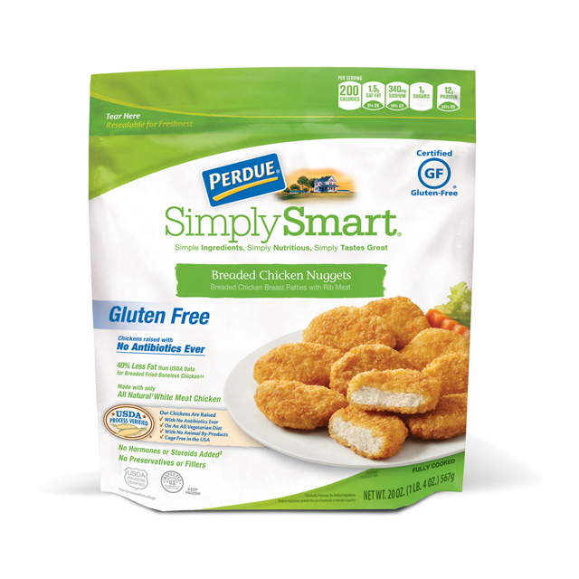 PERDUE® SIMPLY SMART® Gluten Free Breaded Chicken Nuggets (20 oz.)