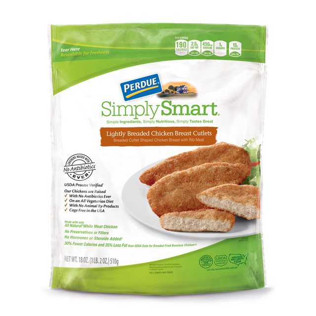 PERDUE® SIMPLY SMART® Lightly Breaded Cutlets (18 oz.)