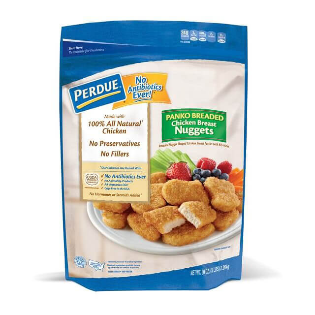 PERDUE® Fully Cooked Breaded Panko Nuggets (5 lbs.)