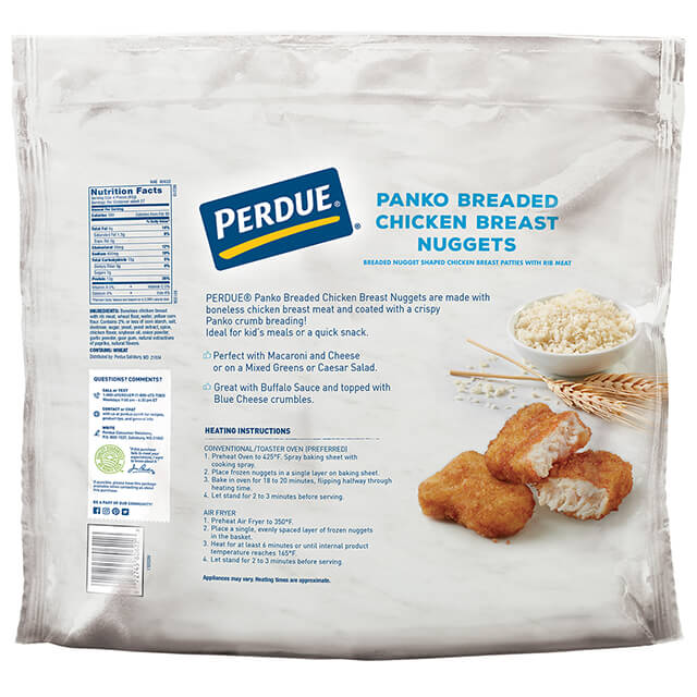 Panko Breaded Chicken Breast Nuggets, 5 lbs
