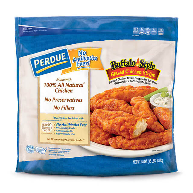 PERDUE® Buffalo Glazed Chicken Strips (3.5 lb)