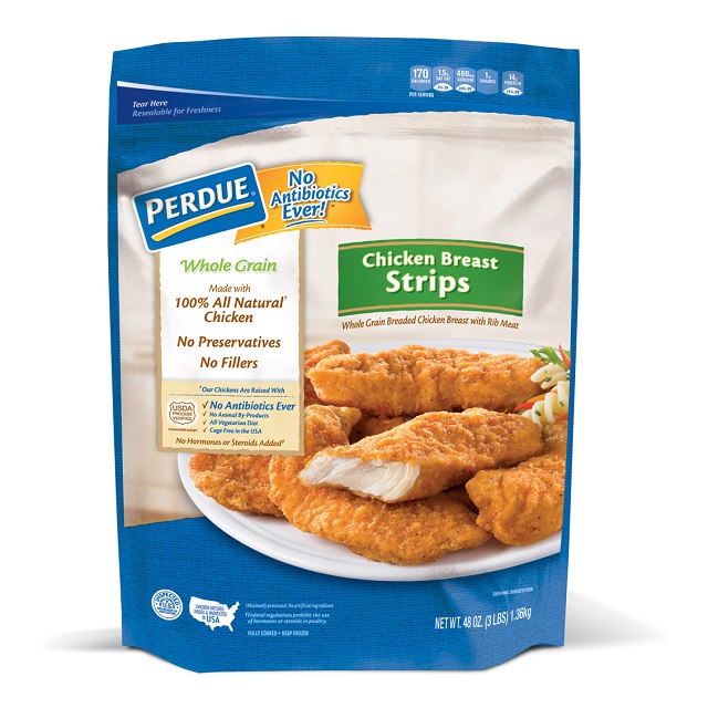 PERDUE® Whole Grain Breaded Chicken Breast Strips, (48 oz.)
