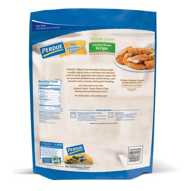 Whole Grain Breaded Chicken Breast Strips, (48 oz.)