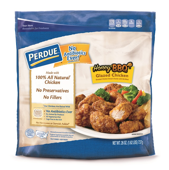 PERDUE® Breaded Chicken Breast Chunks, Honey BBQ Glazed (26 oz.)
