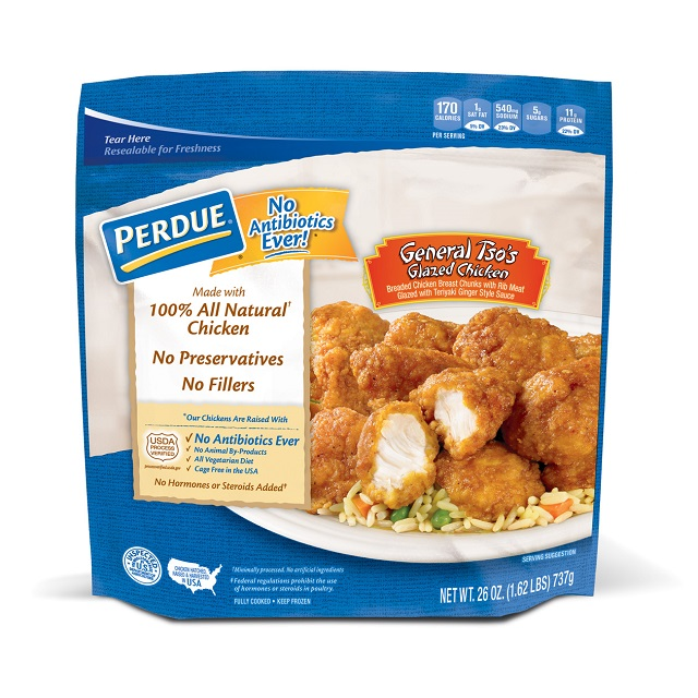 PERDUE® Breaded Chicken Chunks, General Tso's Glazed  (26 oz.)