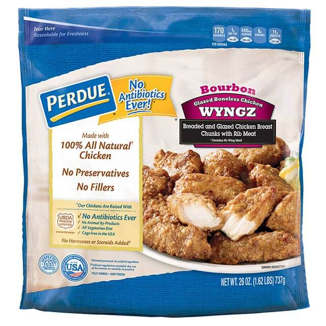 Bourbon Style Boneless Chicken Wyngz (26 oz.)