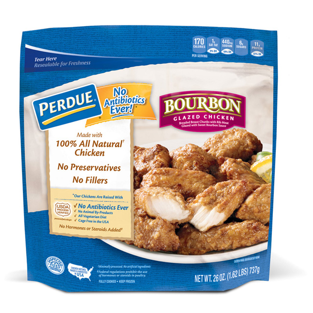 PERDUE® Breaded Chicken Breast Chunks, Bourbon Glazed (26 oz.)
