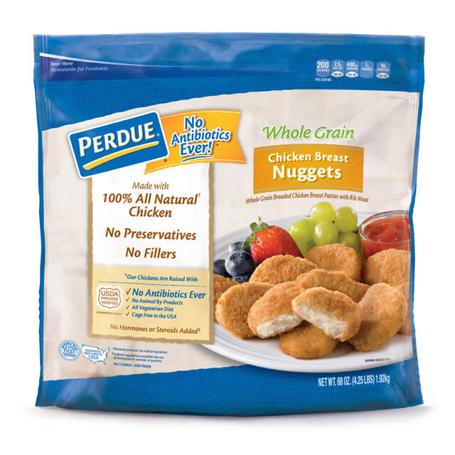Perdue Whole Grain Chicken Breast Nuggets 68 Oz 81479 Perdue