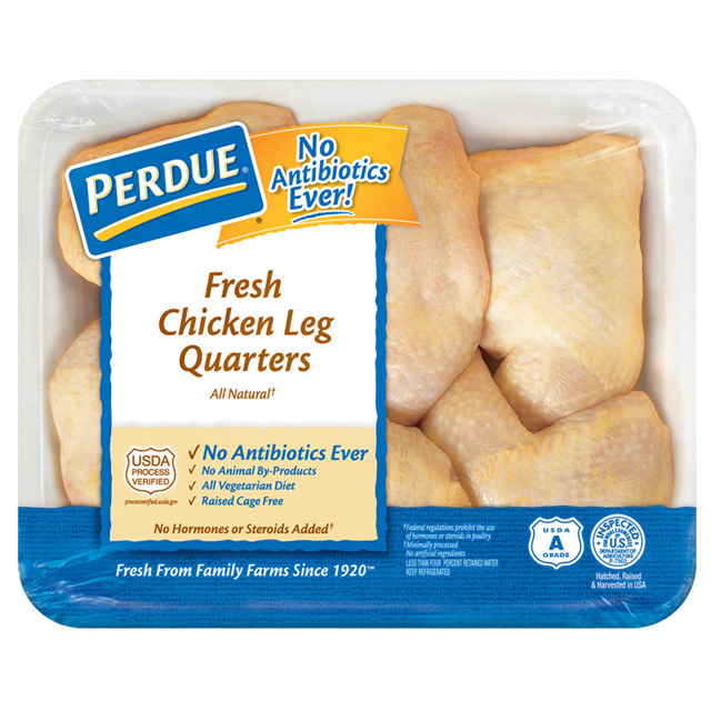 PERDUE® Chicken Leg Quarters, Family Pack