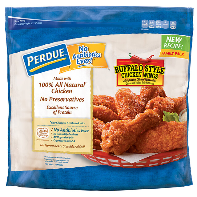 Buffalo Style Glazed Jumbo Wings, Value Pack