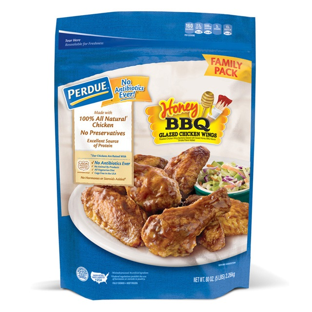 PERDUE® Honey BBQ Glazed Jumbo Wings, (80 oz.)