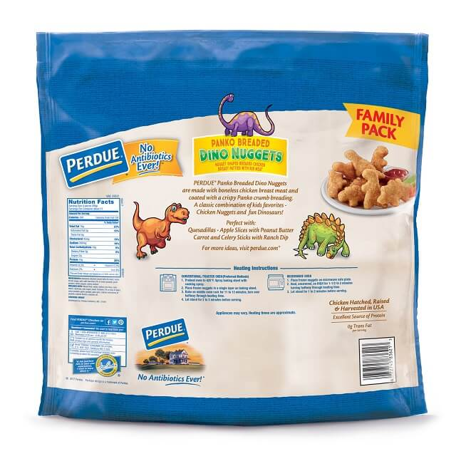 Panko Breaded Dino Nuggets, Family Pack (3.25 lbs)